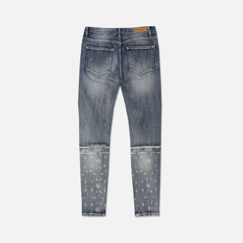 Wild West Denim Jeans in Indigo