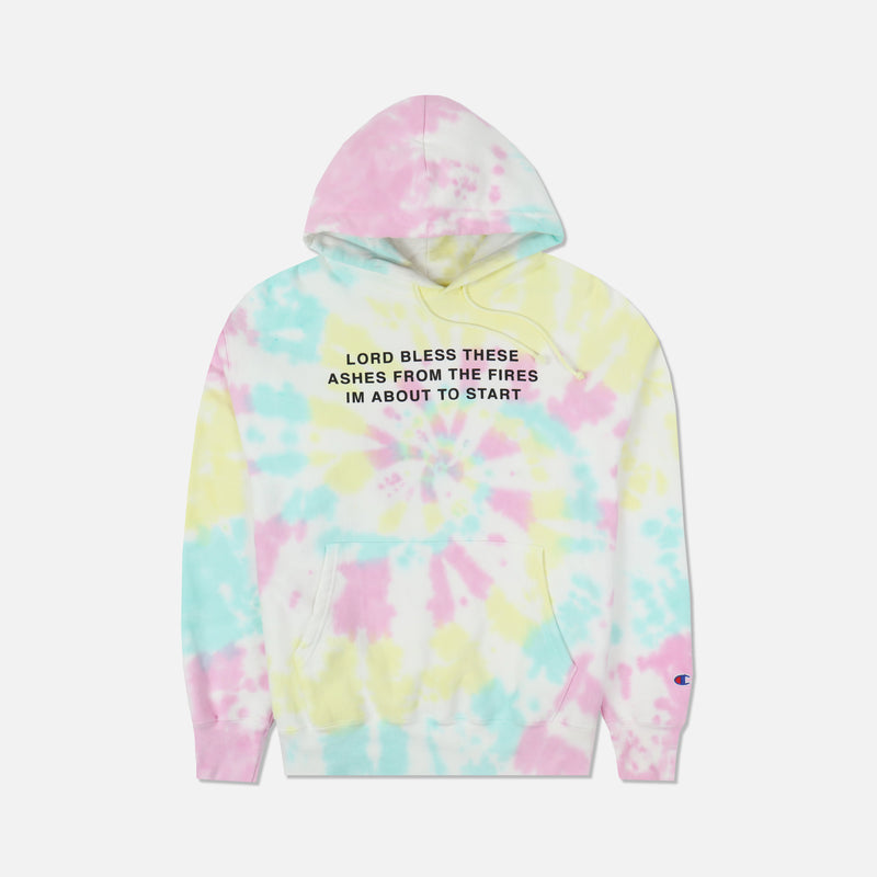Lord Bless This Hoodie in Faded Spiral