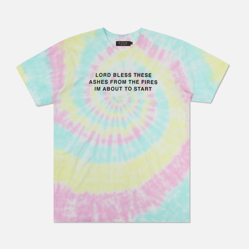 Lord Bless This Tee in Faded Spiral