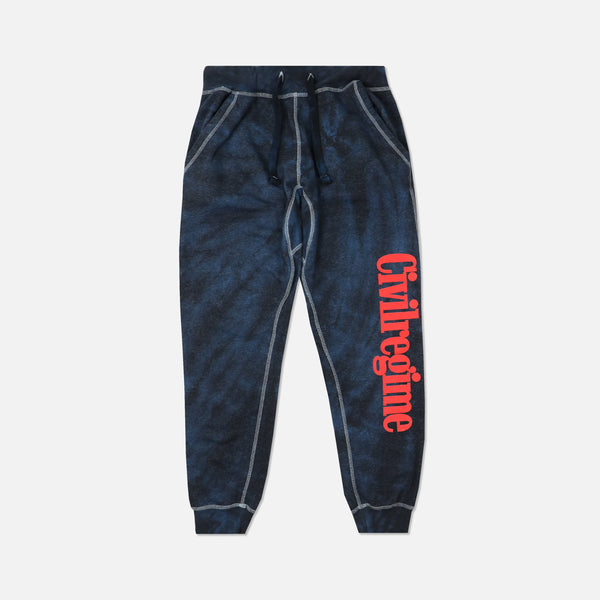 Regime Joggers in Midnight Spiral