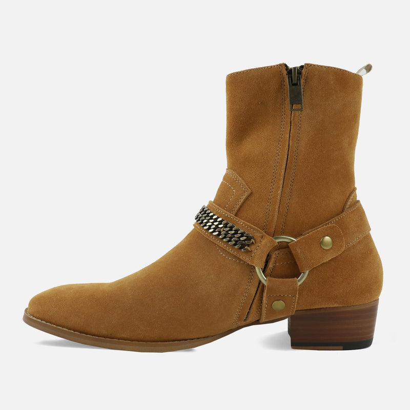 Midnight Boots in Tan