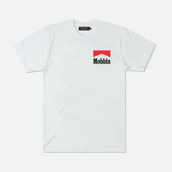 Mobbin Tee in White