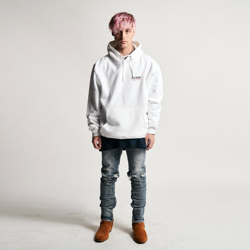 Spark Hoodie in White