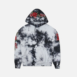 Champion Red Roses Hoodie in Crystal Wash