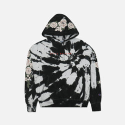 Champion Blanco Roses Hoodie in Black Spiral