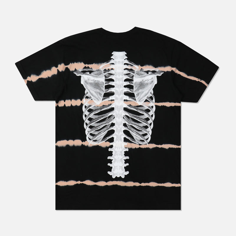 (S.I.N.) Spine Tee in Heartbeat Wash