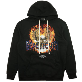 Sworn Ruler Hoodie in Black