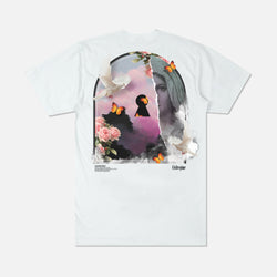 (S.I.N.) Unlocked Tee in White