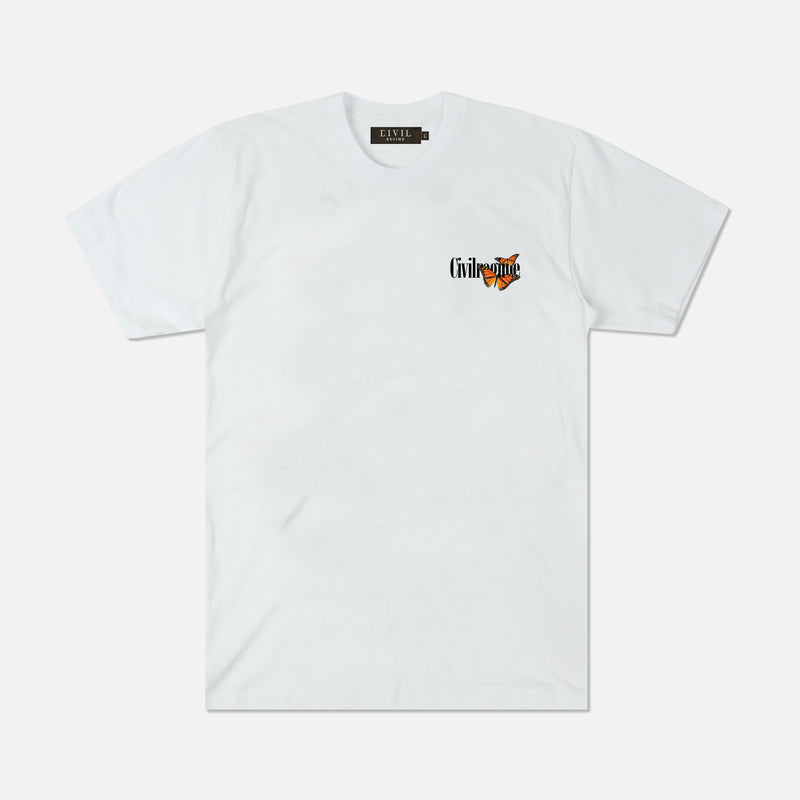 New Utopia Tee in White