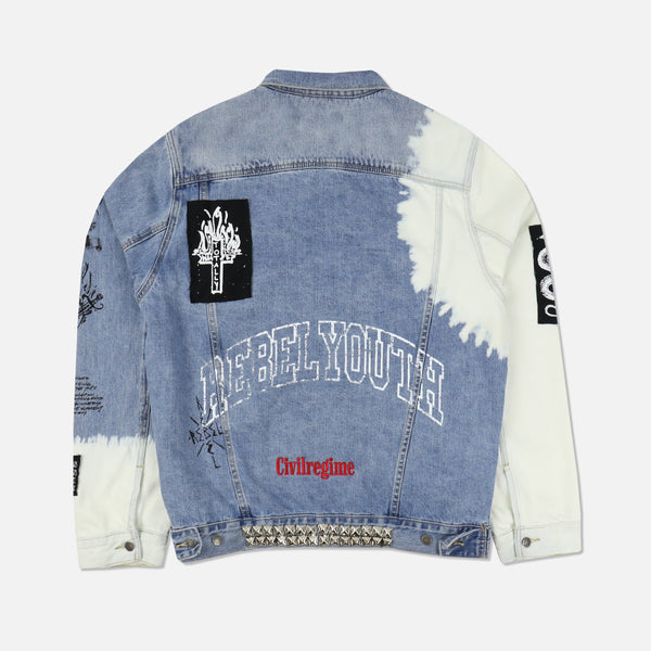 Wasted Denim Jacket in Darby Wash