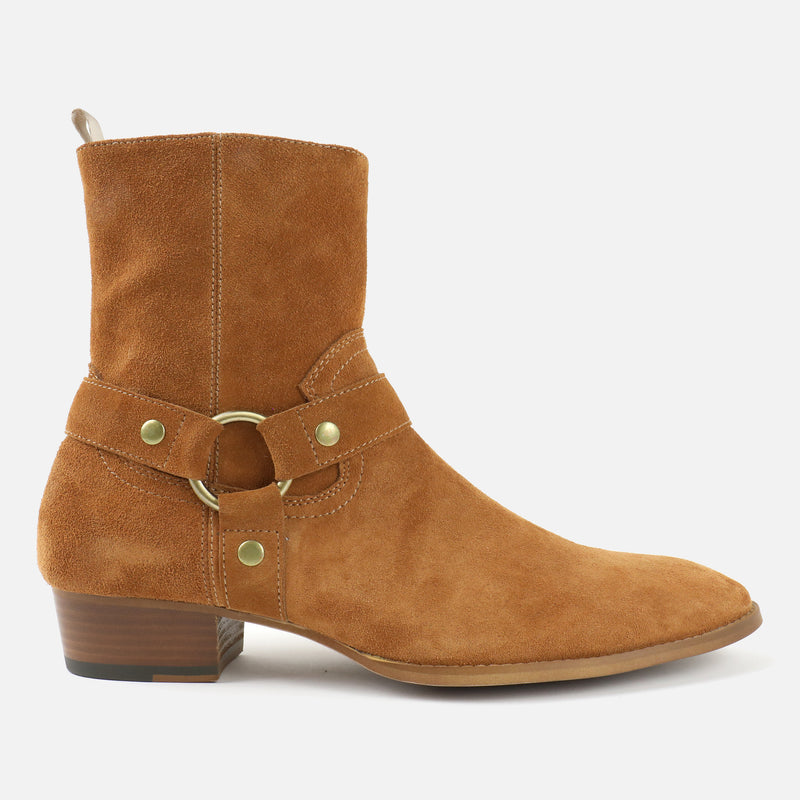 Whiskey Boots in Tan