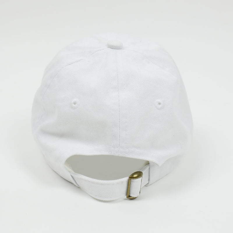 Ashes Strapback Hat in White