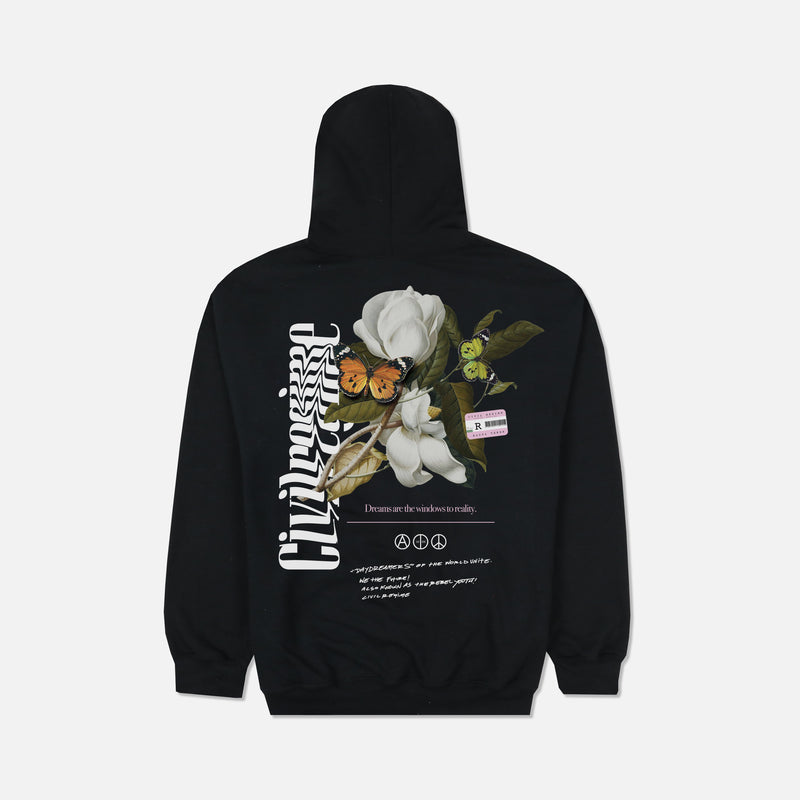 Champion Windows Hoodie in Black