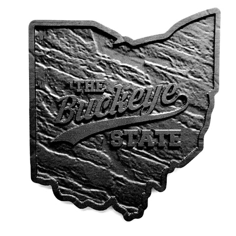 Ohio Buckeye State Wall Art
