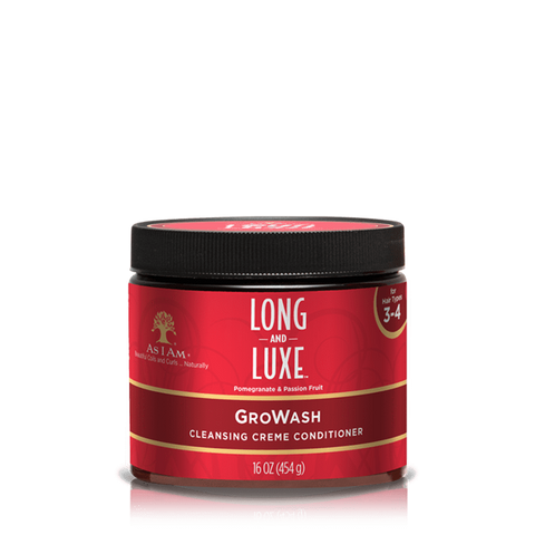 As I Am - Long & Luxe GroWash (16 oz.) - Nouri Pa Nati