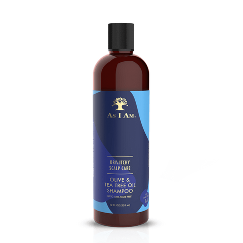 As I Am - Olive & Tea Tree Oil Shampoo (12 oz.) - Nouri Pa Nati