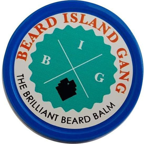 Beard Island Gang - Brilliant Balm - Eucalyptus/Rosemary/Peppermint (1 oz.) - Nouri Pa Nati