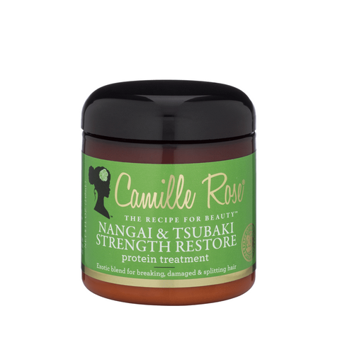 Camille Rose - Nangai & Tsubaki Strength Restore Protein Treatment (8 oz.) - Nouri Pa Nati