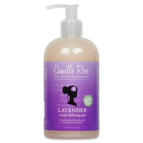 Camille Rose - Lavender Crush Defining Gel - Extra Hold (12 oz.) - Nouri Pa Nati
