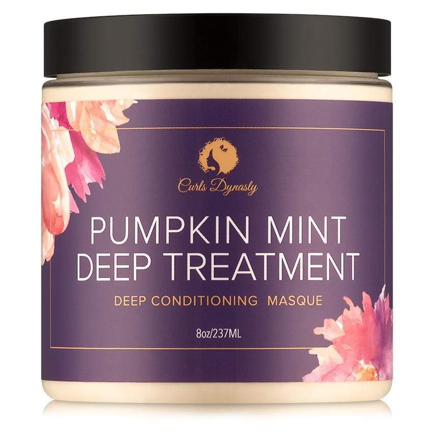 Curls Dynasty - Pumpkin Mint Deep Treatment (8 oz.) - Nouri Pa Nati