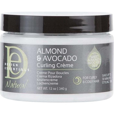 Design Essentials - Almond & Avocado Curling Crème (12 oz.) - Nouri Pa Nati