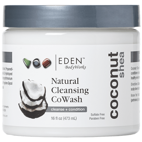 Eden Bodyworks - Coconut Shea Styling - Natural Cleansing CoWash (16 oz.) - Nouri Pa Nati