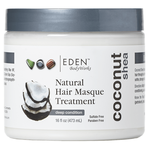 Eden Bodyworks - Coconut Shea Styling - Hair Masque Treatment (16 oz.) - Nouri Pa Nati