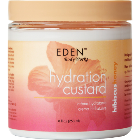 Eden Bodyworks - Hibiscus Honey - Custard (8 oz.) - Nouri Pa Nati