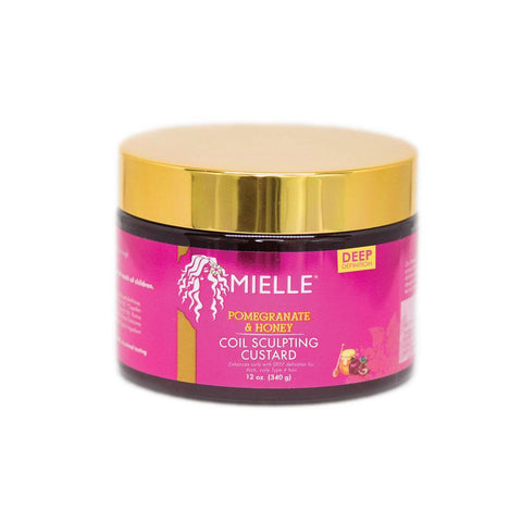 Mielle - Pomegranate & Honey Coil Sculpting Custard (12 oz.) - Nouri Pa Nati