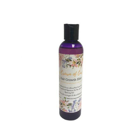 My Crown of Curls - Hair Growth Elixir (8 oz.) - Nouri Pa Nati