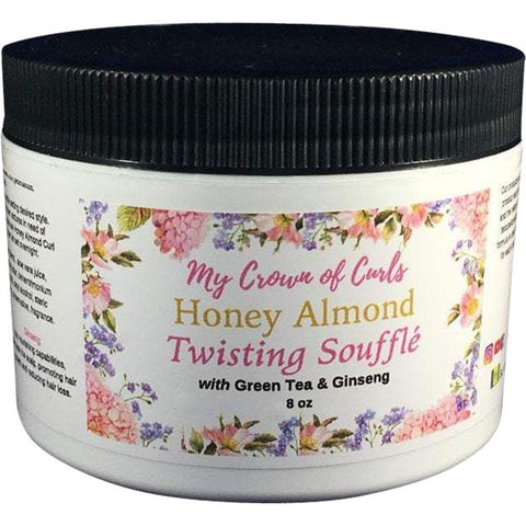 My Crown of Curls - Honey Almond Twisting Souffle (8 oz.) - Nouri Pa Nati