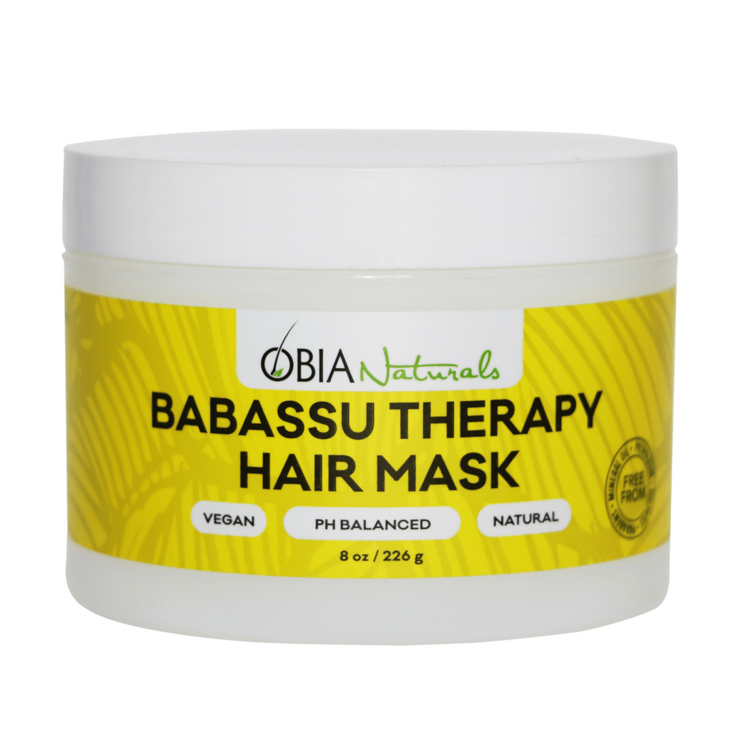 Obia Naturals - Babassu Therapy Hair Mask (8 oz.) - Nouri Pa Nati