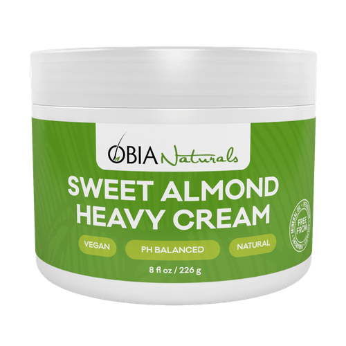Obia Naturals - Sweet Almond Heavy Cream (8 oz.) - Nouri Pa Nati