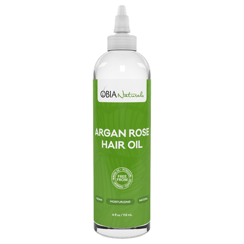 Obia Naturals - Argan Rose Hair Oil (4 oz.) - Nouri Pa Nati