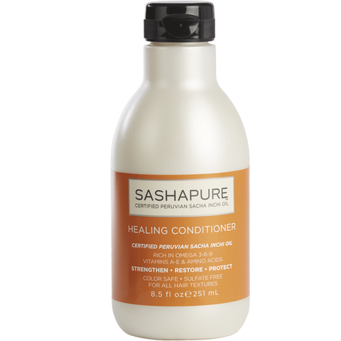SashaPure - Healing Conditioner (8.5 oz.) - Nouri Pa Nati