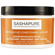 SashaPure - Restorative Conditioning Masque (8 oz.) - Nouri Pa Nati