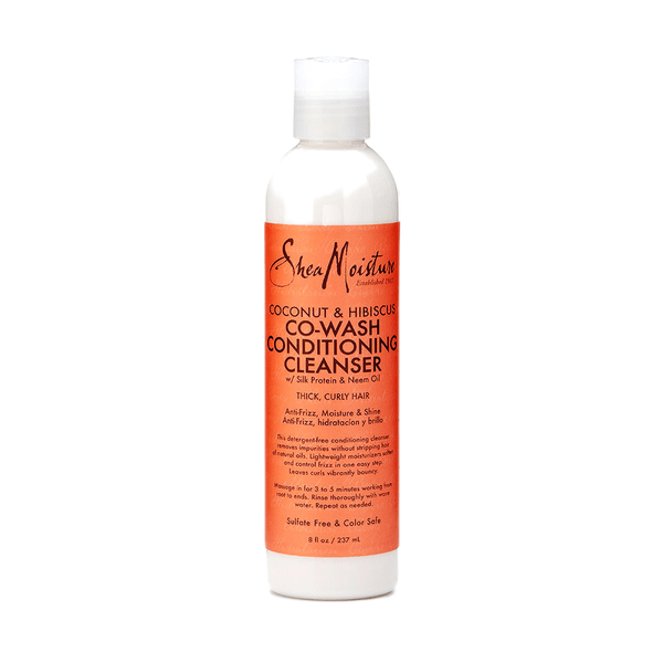 SheaMoisture - Coconut & Hibiscus - Co-Wash Conditioning Cleanser (8 oz.) - Nouri Pa Nati