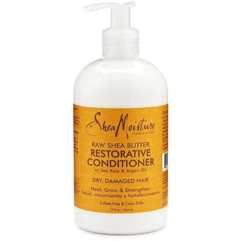SheaMoisture - Raw Shea Butter - Restorative Conditioner (13 oz.) - Nouri Pa Nati
