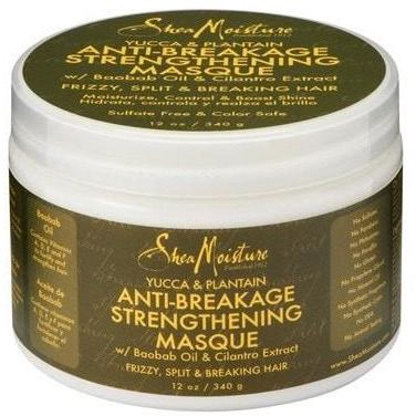 SheaMoisture - Yucca & Plantain - Anti-Breakage Strengthening Masque (12 oz.) - Nouri Pa Nati