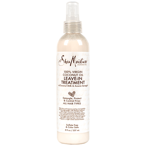 SheaMoisture - 100% Virgin Coconut Oil - Leave-In Treatment (8 oz.) - Nouri Pa Nati