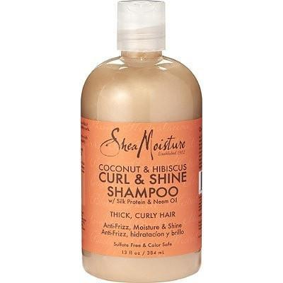 SheaMoisture Shampoo SheaMoisture - Coconut & Hibiscus - Curl & Shine Shampoo (13 oz.)