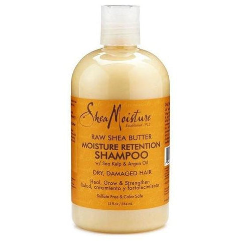 SheaMoisture - Raw Shea Butter - Moisture Retention Shampoo (13 oz.) - Nouri Pa Nati