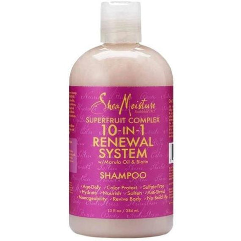 SheaMoisture - Superfruit Complex 10in1 - Shampoo (13 oz.) - Nouri Pa Nati