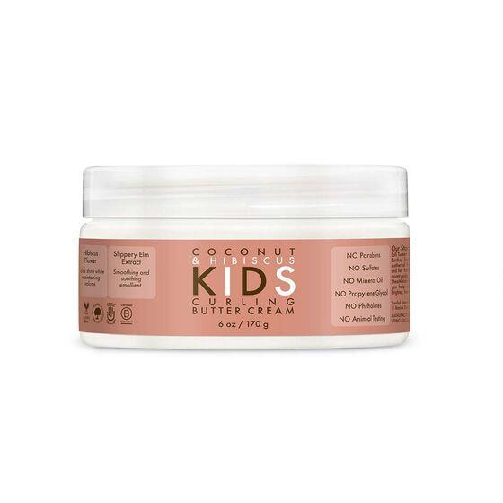 SheaMoisture Kids - Coconut & Hibiscus - Curling Butter Cream (6 oz.) - Nouri Pa Nati
