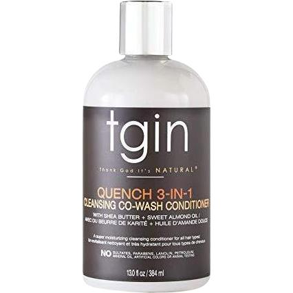 TGIN - Quench 3-in-1 Co-Wash Conditioner and Detangler (13 oz.) - Nouri Pa Nati
