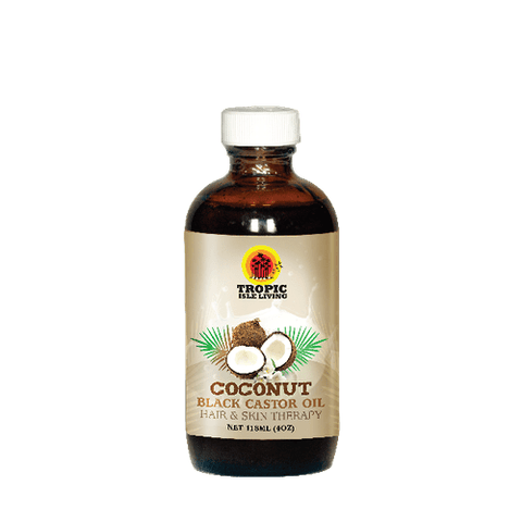 Tropic Isle Living - Jamaican Black Castor Oil - Coconut (4 oz.) - Nouri Pa Nati