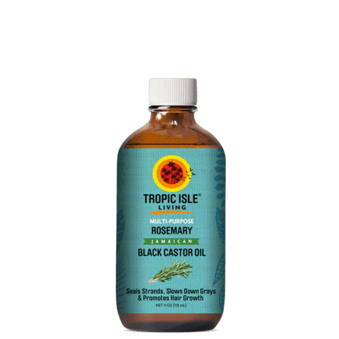 Tropic Isle Living - Jamaican Black Castor Oil - Rosemary (4 oz.) - Nouri Pa Nati