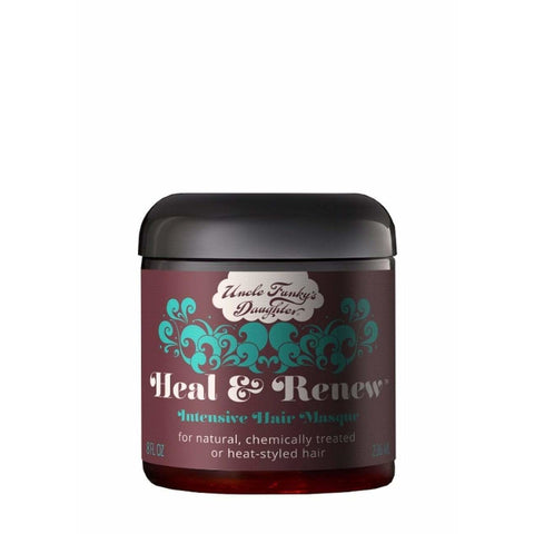 Uncle Funky's Daughter - Heal & Renew Intensive Hair Masque (8 oz.) - Nouri Pa Nati