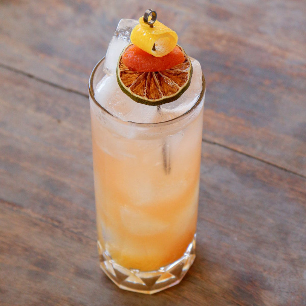 Apricot Bourbon Buck cocktail recipe