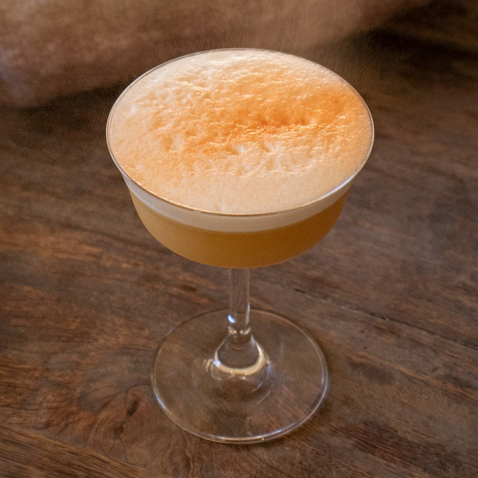 Classic Bourbon Sour cocktail recipe